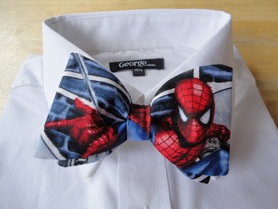 Spider-Man Bow Tie