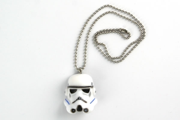 Star Wars Stormtrooper Helmet Necklace