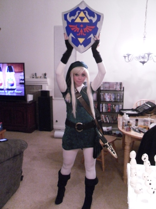 Alice in Legend of Zelda Link Cosplay
