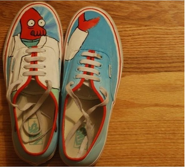Futurama Zoidberg Shoes