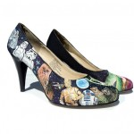 Hand-Painted Star Wars High Heels [pic]