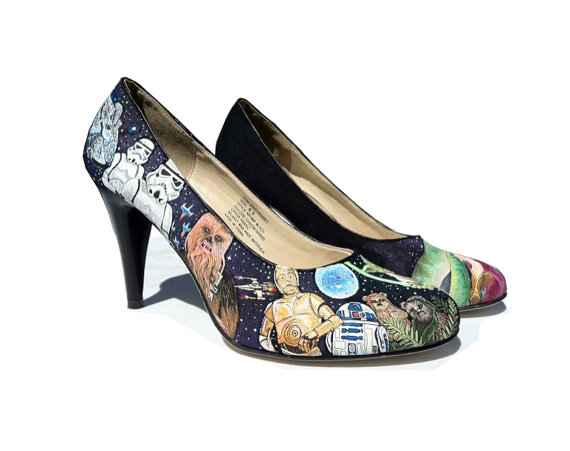 Star Wars High Heeled Shoes