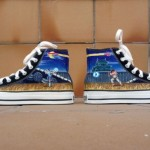 Hand-Painted Street Fighter Chuck Taylor Sneakers [pic]