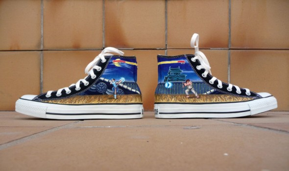 Street Fighter Chuck Taylor Shoes