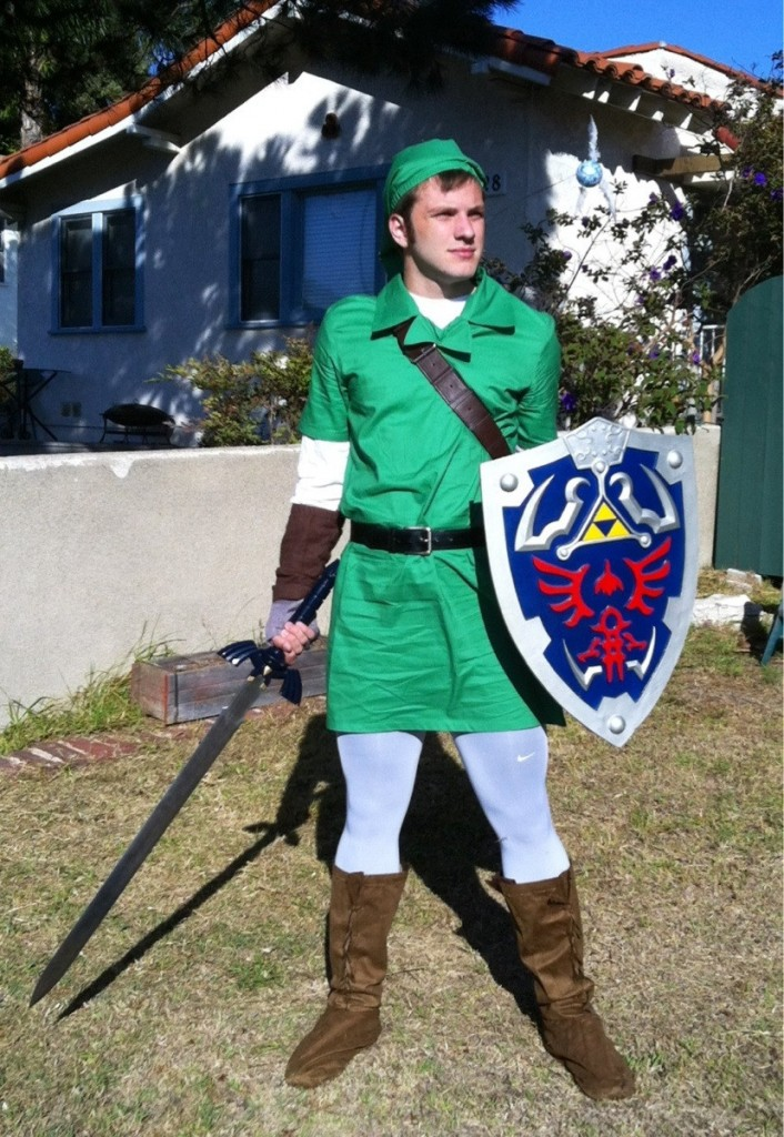Legend of Zelda Link Cosplay