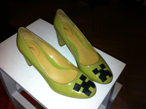 Minecraft Creeper High Heel Shoes