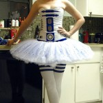 Star Wars R2-D2 Ballerina Cosplay