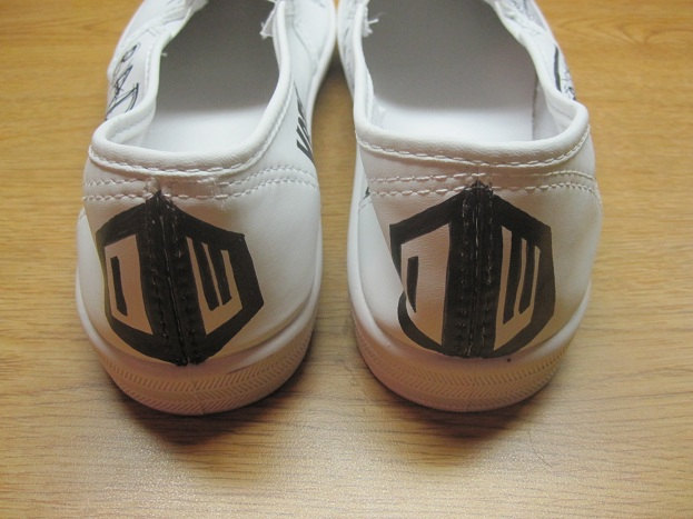 Doctor Who Shoes Back