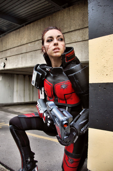 More Female Mass Effect Commander Shepard Cosplay