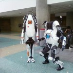 Portal P-Body and Atlas Cosplay [pic]