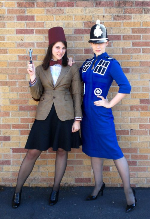 Doctor Who 11th Doctor and TARDIS Cosplay