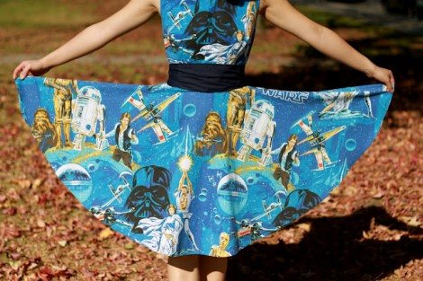 DIY Star Wars Dress Bottom