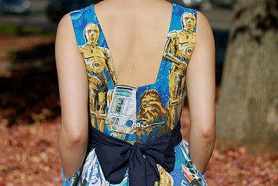 DIY Star Wars Dress From Behind