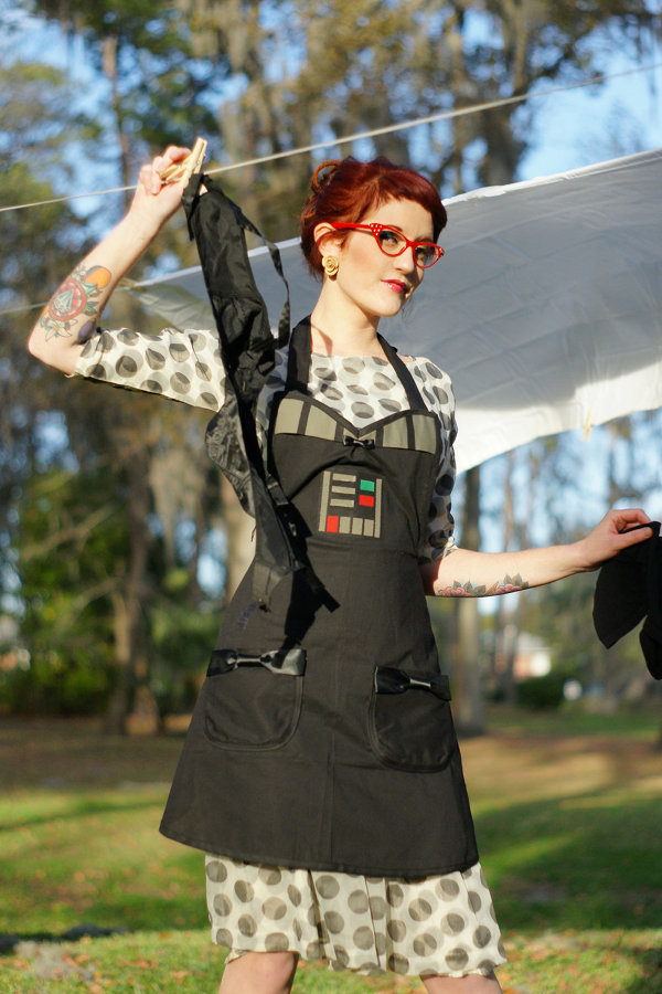 Darth Vader Cooking Apron
