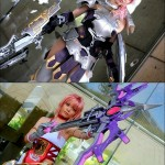 Final Fantasy Lightning and Serah Cosplay