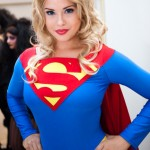 Beautiful Supergirl Cosplay