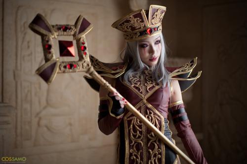 Sally Whitemane World of Warcraft Cosplay by MiYo