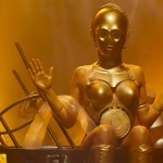 Star Wars C-3PO Burlesque Cosplay