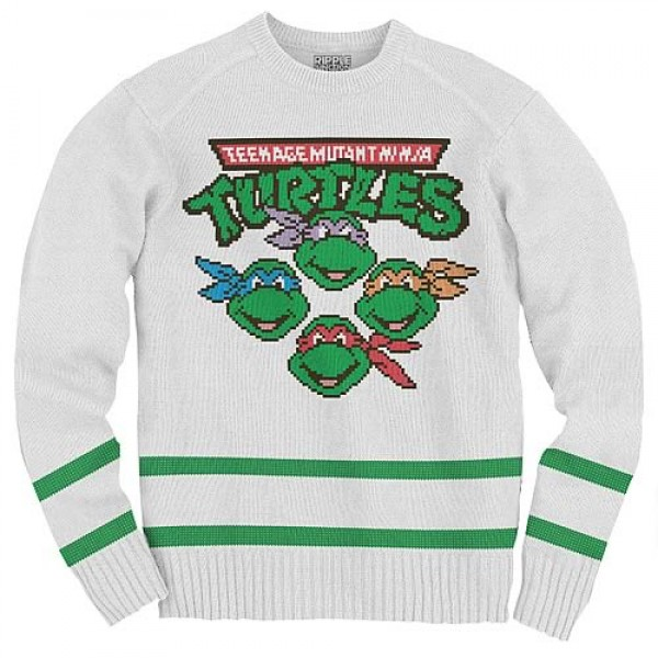 Knit Teenage Mutant Ninja Turtles Sweatshirt