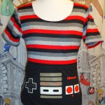 NES Controller Girl Gamer Shirt