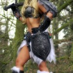 Sexy Skyrim Dragonborn Cosplay