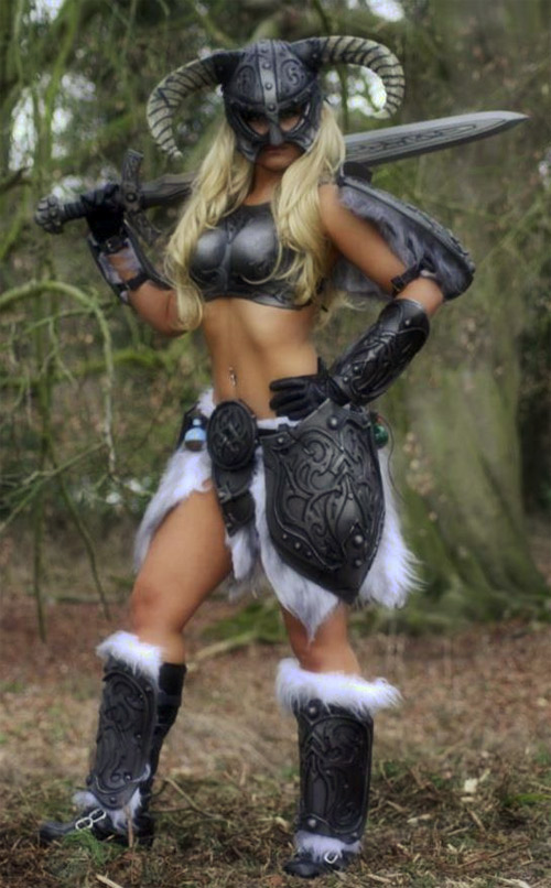 More Sexy Skyrim Dragonborn Cosplay
