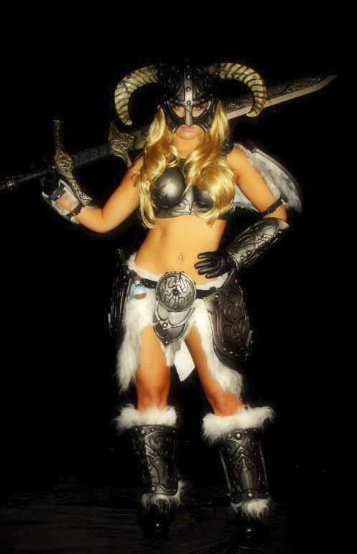 Yet More Sexy Skyrim Dragonborn Cosplay
