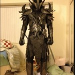Skyrim Daedric Armor Cosplay