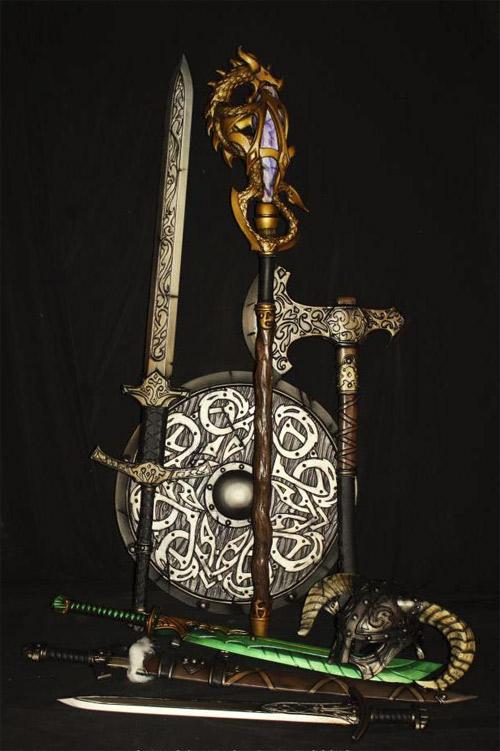 Skyrim Dragonborn Cosplay Gear
