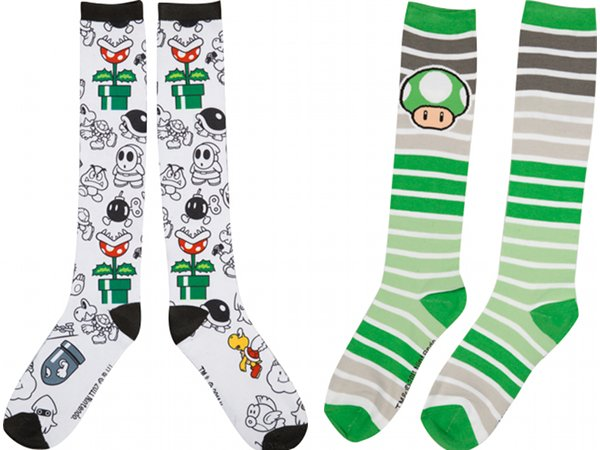 Nintendo Knee High Socks