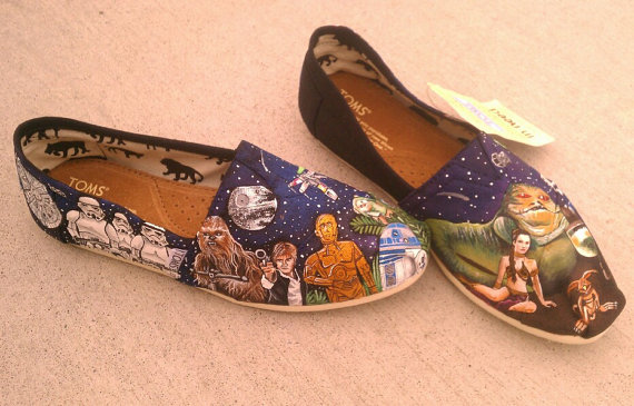 Custom Star Wars TOMS Shoes