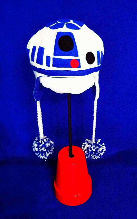 R2-D2 Earflap Beanie Cap