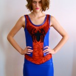 Sexy Skin-Tight Spider-Man Dress