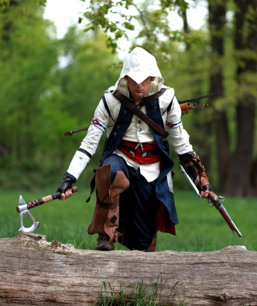 Assassin's Creed 3 Connor Kenway Cosplay