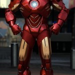 Iron Man Suit Cosplay Made with Cardboard