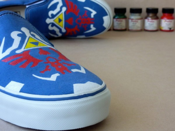 Legend of Zelda Twilight Princess Vans Sneakers