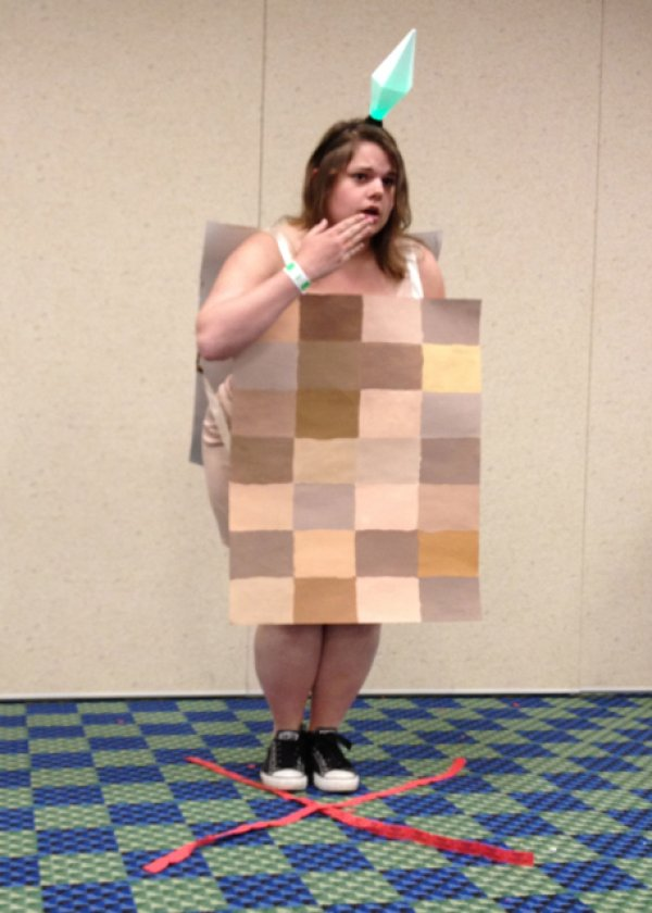Naked Sims Pixelated Body Cosplay