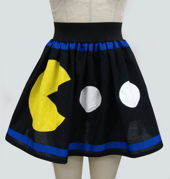 Pac-Man and Ghost Skirt