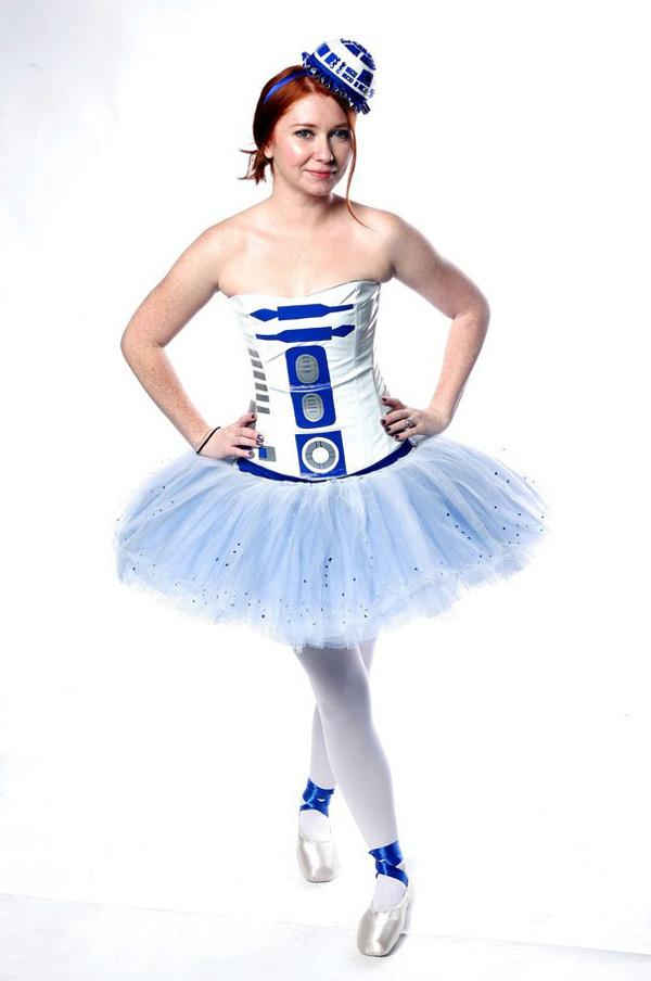 R2-D2 Ballerina Tutu