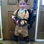 Cute Little Girl Ghostbuster Cosplay [pic]
