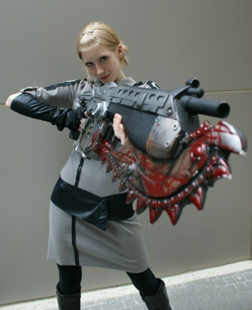 Gears of War Anya Stroud Cosplay