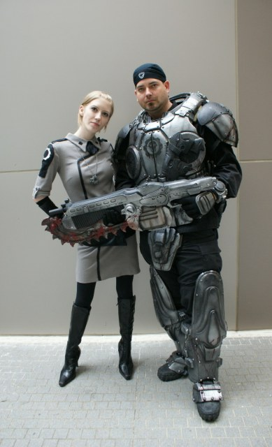Gears of War Marcus Fenix and Anya Stroud Cosplay