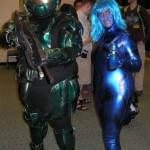 Master Chief and Cortana: The Later Years Cosplay [pic]