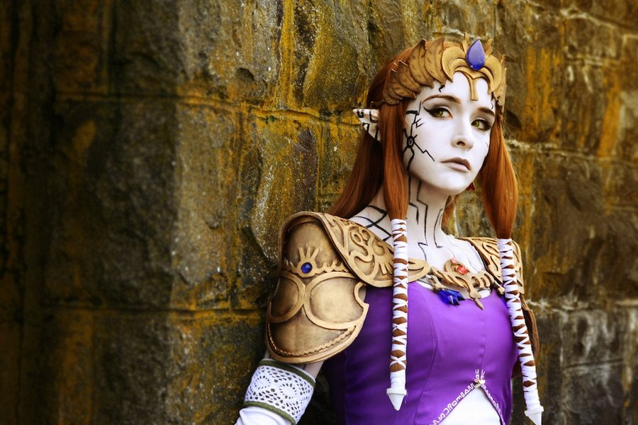 Puppet Zelda Cosplay from Legend of Zelda Twilight Princess