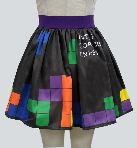 Tetris Skirt
