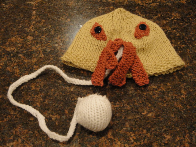 Doctor Who Ood Knitted Hat