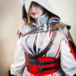Female Ezio Auditore da Firenze Assassin's Creed Cosplay [pic]