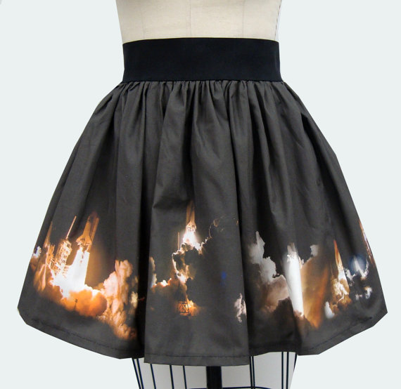 NASA Space Shuttle Night Launch Skirt