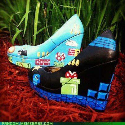 Super Mario Bros Heels