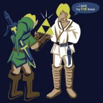 Star Wars and Legend of Zelda Mash-up T-Shirt [pic]